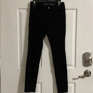 Women's old navy low rise rockstar jeans